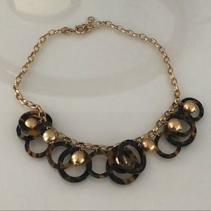 JCrew classic bulky necklace